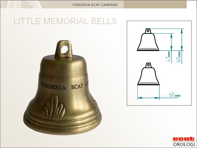little memorial bell - campana ricordo